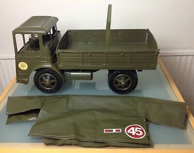 SHARNA TOYS - 1:6 Scale, Action Man LEYLAND COVERED ARMY TRUCK (1970s) • 19.99£