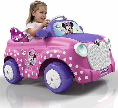Official Feber Famosa Minnie Mouse Pink Electric Ride On Car 6V 2-4 Years - NEW  • 114.99£