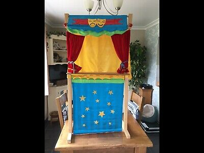 Fiesta Crafts Tellatale Theatre With Puppets • 100£