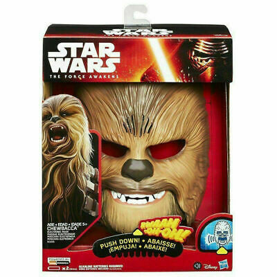 Star Wars The Force Awakens Chewbacca Electronic Mask Voice A86R Toys Fun Gift • 22.88£