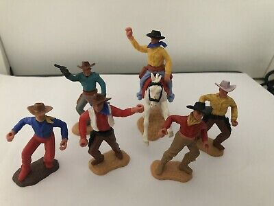 Timpo Toy Cowboys, One Horse • 6.61£