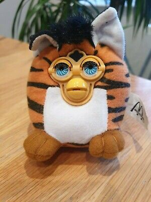Collectable Tiger Furby McDonalds Happy Meal Toy 2000 • 0.99£