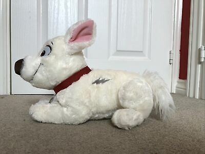 Disney Store Laying Bolt Dog Puppy Soft Plush Toy  USA Exclusive • 39.95£