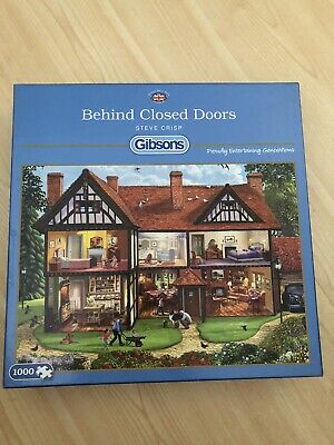 Gibsons Puzzles - Behind Closed Doors  • 3£