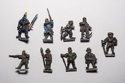 Citadel 1985-87 - Assorted Warhammer Figures (9 X Total) - Games Workshop • 6£
