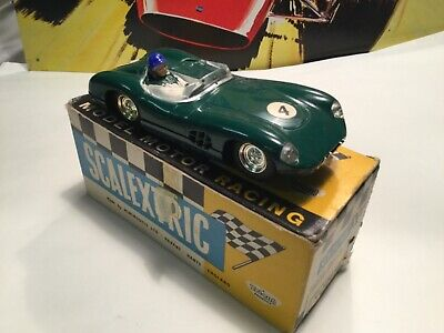 Scalextric Aston Martin Green With Lights E/2 C57 Boxed • 80£