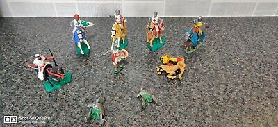 Vintage Timpo Britain Mounted Crusader Knights And More • 6.99£