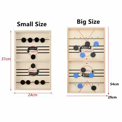 Child Fast Sling Puck Games Paced SlingPuck Winner Board Games Family Games Gift • 8.47£