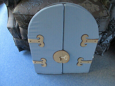 Ikea Mirror, Safety Storage Blue Shield Knight/Princess  Childrens  Play Castle • 9.95£