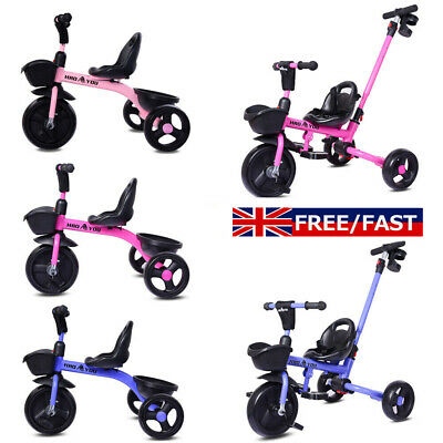 Kids Trike Baby Tricycle Boys Girls Toddler Child 3-Wheel Pedal Ride On Bike Toy • 43.99£