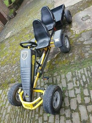 Berg Racer Go Kart With Second Seat + Trailer • 280£
