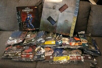 Warhammer 40k Conquest Magazines 1-18 **brand New And Sealed** • 95£