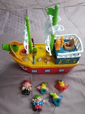 Fisher Price Little People Pirate Ship • 1.50£