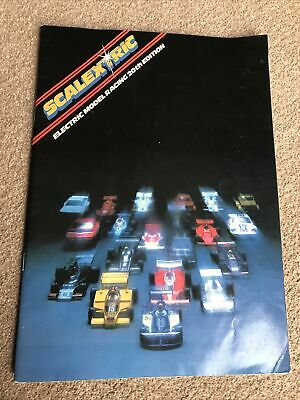 Vintage Scalextric Catalogue 20th Edition 1979 • 5£