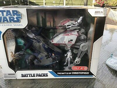 Rare ..Star Wars Battle Packs The Battle Of Christophsis. A Collectors Must • 99£