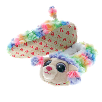 Original Ty Beanie Boos Fashion Slipper Socks Rainbow  Medium 95335 • 11.45£