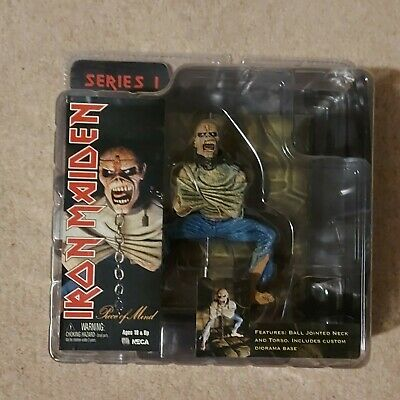 Iron Maiden NECA Piece Of Mind Rare 2005 MIB, Unopened & Sealed • 45£