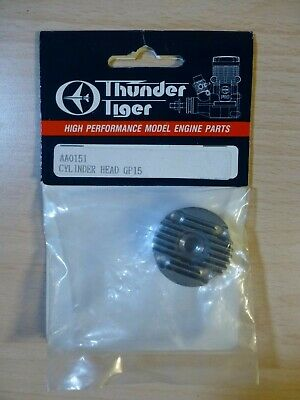 Thunder Tiger   Cylinder Head Gp-15 Reference  Aa0151  • 8.96£