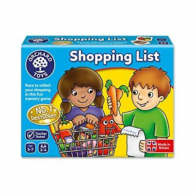 Orchard Toys 003 Shopping List Game, Educational Games For Children / Kids • 9.99£