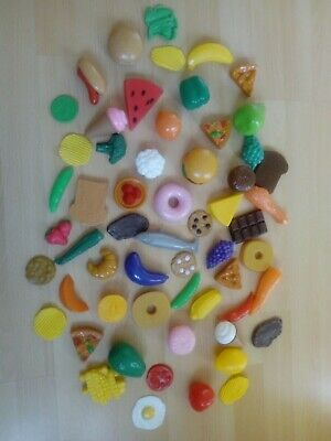 Plastic Food Toys 60 Items In Very Good Condition • 3.99£