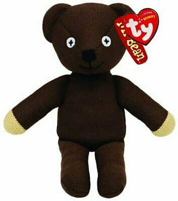 Ty Beanie Mr Bean Teddy  Soft Toy 9 Inch New Gift 46179 • 7.45£