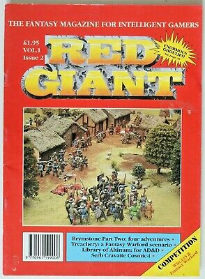 Gaming Magazine - The Red Giant - Vol.1 Issue 2 1990 UK • 9.99£