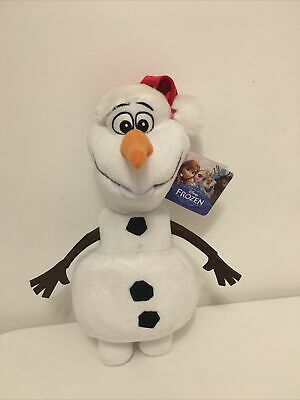 New Jumbo Disney Olaf Christmas Hat Soft Plush Toy Teddy With Tags 12 Inch • 6£