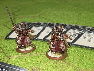 A Song Of Ice And Fire TWO Nicely Painted Great Jon Umber Figures/Models • 15£