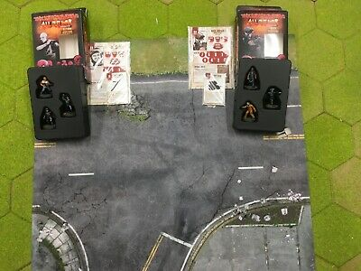 Mantic Games - The Walking Dead All Out War - PAINTED Glenn & Rick Booster Sets • 65£