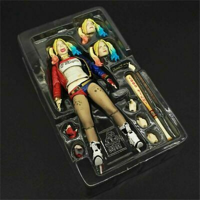 6'' S.H.Figuarts Suicide Squad Harley Quinn Figure Toy SHF Collection Gift New • 14.66£