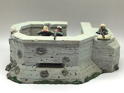 King & Country Wwii German Forces Atlantic Wall Wss78 1/30 • 494.99£