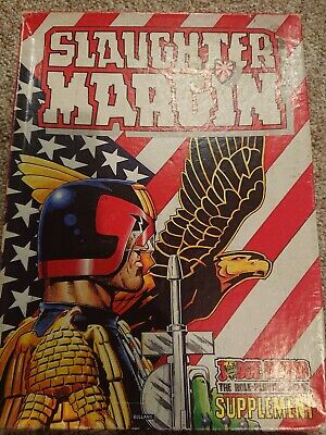 Slaughter Margin, Judge Dredd The Role Playing Game Supplement 1987 Gw • 44.99£