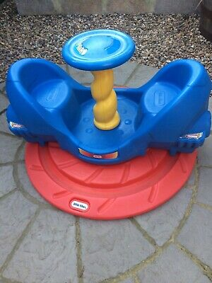 Little Tikes Whirly Rocket Roundabout Very Good Condition • 80£