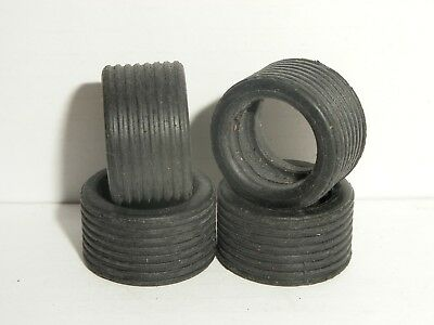 Scalextric - W8105 Rear Ribbed Tyres For 1990s Saloons X4 - NEW • 1.60£