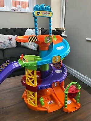 VTech Baby Toot Toot Drivers Parking Tower With Ramps • 10.95£