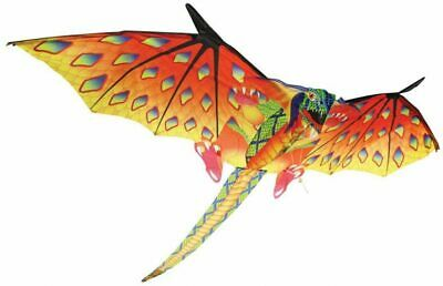 Dragon Supersize 3D Kite 16  Wingspan Age 8 To Adult 51.8m Line Wind Up To 29KPH • 13.53£