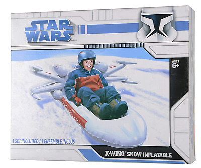 Star Wars Snow Sledge Inflatable X-Wing Fighter • 22.99£