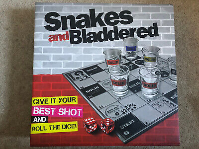 Snakes And Bladdered Drinking Board Game BNIB • 4.99£