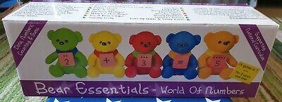 Bear Essentials - World Of Numbers -Educational Game - Boxed Excellent Condition • 12.50£