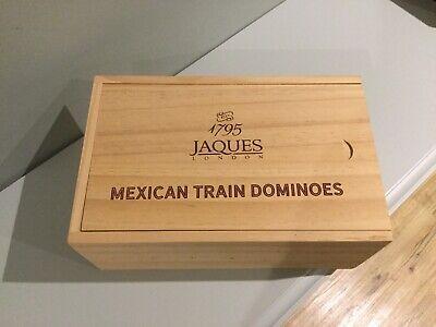 Jacques Of London Mexican Train Dominoes Game • 12.50£