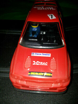 Scalextric C471 Ford Escort Cosworth No 7 Rally Car Waters Edge • 10£