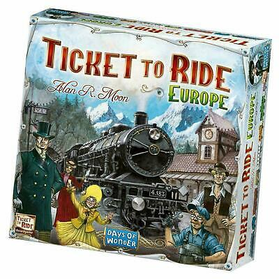 Ticket To Ride: Europe - Days Of Wonder 2-5 Player Board Game - NEW & SEALED • 23.99£