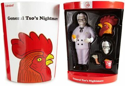 Kidrobot General Tso's Nightmare By Frank Kozik Vinyl Figure • 29.99£