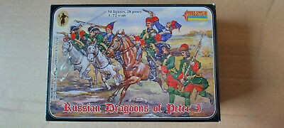Strelets Russian Dragoons Of Peter J No 0010 New In Box In 1:72 Scale • 5.99£