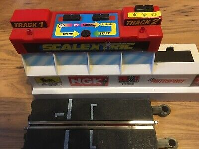 Vintage Scalextric Pole Position Sound Control Centre C8002 Tested & Working. • 7.50£