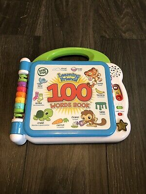 LeapFrog Learning Friends 100 Words Book • 5£