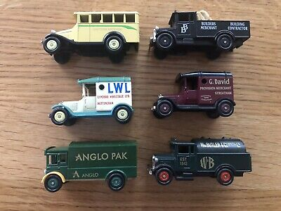 Corgi Cameo Collection - 6 X Die Cast Models (As Detailed Below) Unused & Boxed • 9.95£