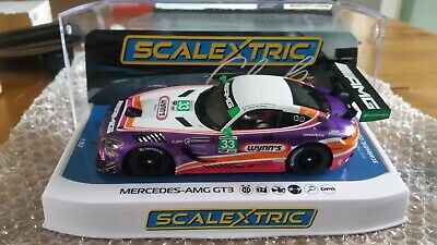 Scalextric Mercedes AMG GT3 C4205 Wynn's Racing Limited Edition 1 Of Only 300 • 80£