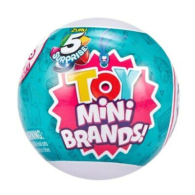 5 Surprise Toys Mini Brands Assortments  Toy By ZURU   In Stock New 2020 • 12.99£