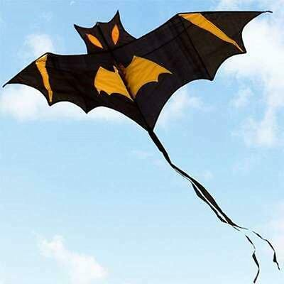 Bat Children Character Kite For Gift And Outdoor Sports Activity Two Colors • 23.67£